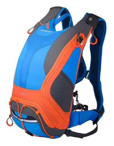 מוצרי שימנו לנשים Shimano Unzen All Mountain 10L - כחול/כתום