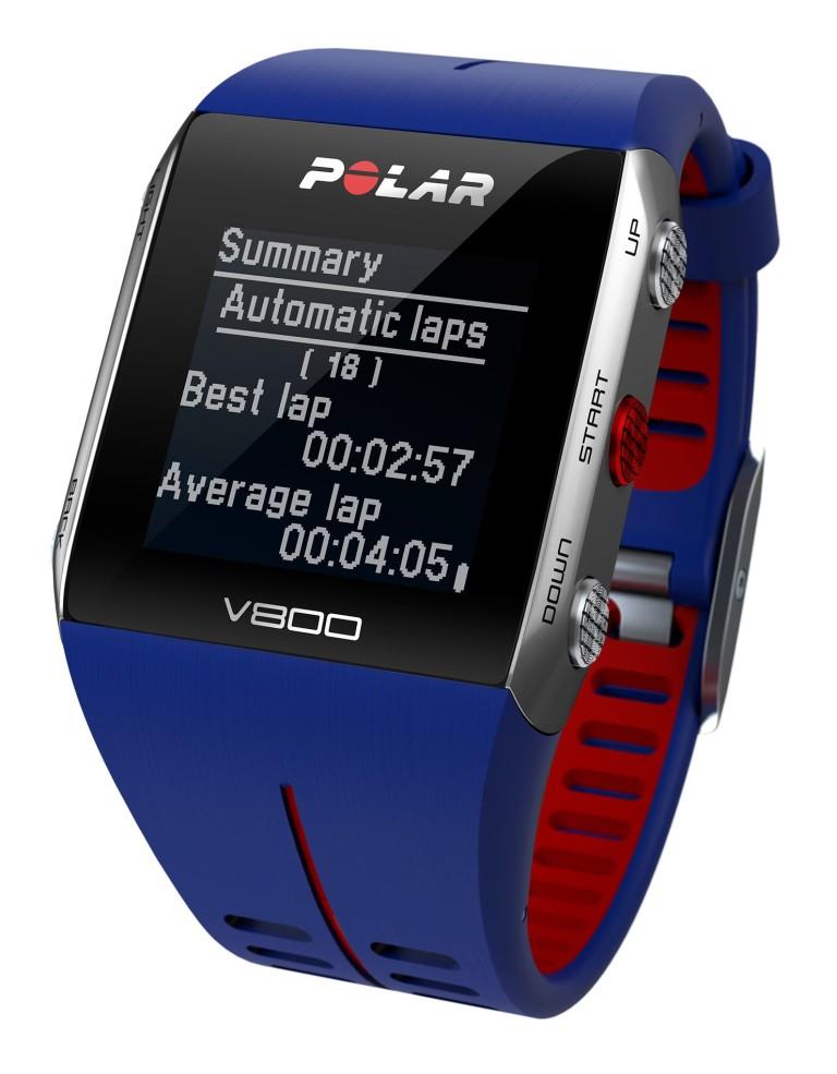 מוצרי Polar לנשים Polar V800 GPS - כחול