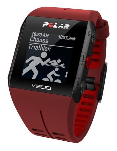 מוצרי Polar לנשים Polar V800 GPS - אדום