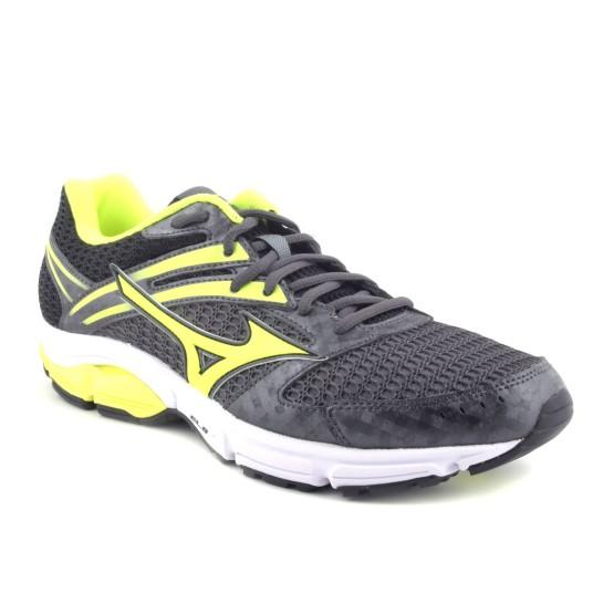 נעלי מיזונו לגברים Mizuno Wave Valiant - אפור/צהוב