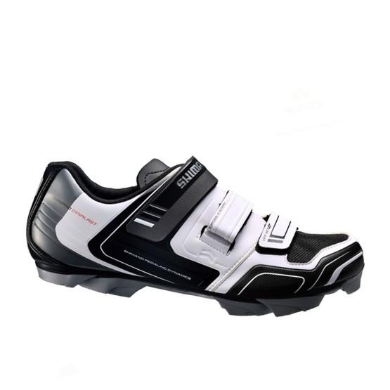 נעלי שימנו לגברים Shimano  XC31 - שחור/לבן