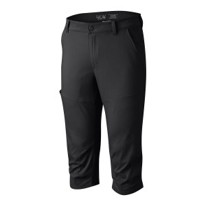 מוצרי Mountain Hardwear לגברים Mountain Hardwear AP Three Quarter Pant - שחור
