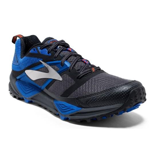 נעלי ברוקס לגברים Brooks Cascadia 12 - שחור/כחול