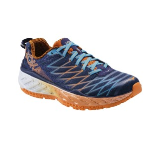 נעלי הוקה לגברים Hoka One One Clayton 2 - כחול/כתום