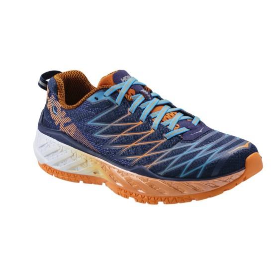 נעלי הוקה לגברים Hoka One One Clayton 2 - כחול/כתום