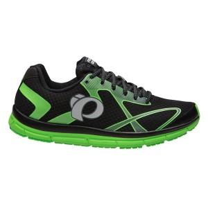 נעלי פרל איזומי לגברים Pearl Izumi EM Road N2 - שחור/ירוק