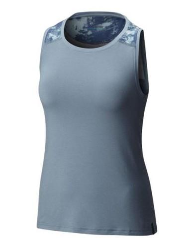 מוצרי קולומביה לנשים Columbia Emanating Light Tank - כחול