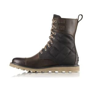 נעלי סורל לגברים Sorel Madson Tall Lace - חום כהה