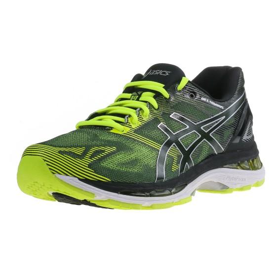 נעלי אסיקס לגברים Asics Gel-Nimbus 19 - שחור/צהוב