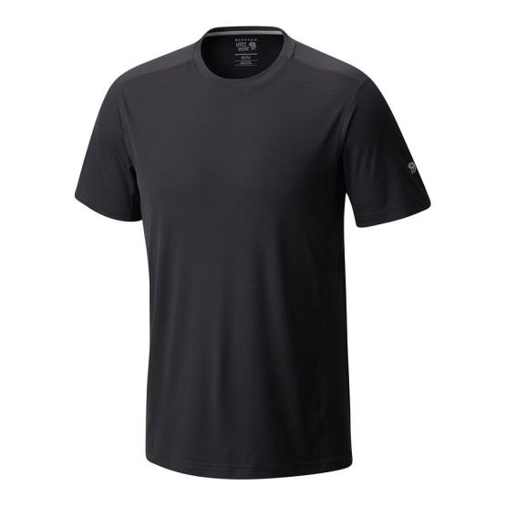 מוצרי Mountain Hardwear לגברים Mountain Hardwear Photon Short Sleeve - שחור