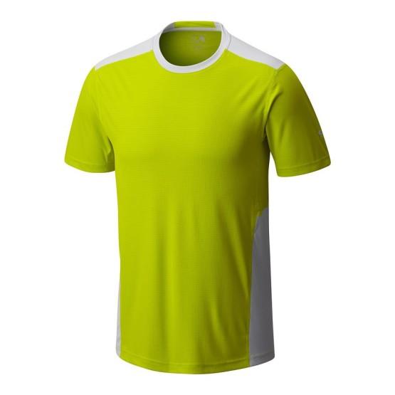 מוצרי Mountain Hardwear לגברים Mountain Hardwear Photon Short Sleeve - צהוב