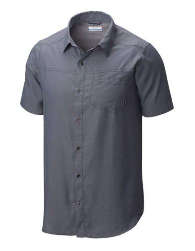 מוצרי קולומביה לגברים Columbia Pilsner Peak II Short Sleeve - אפור