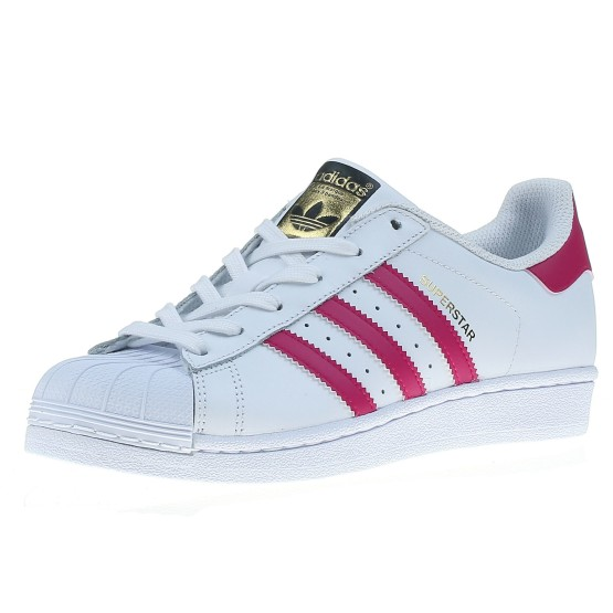מוצרי אדידס לנשים Adidas Superstar - לבן/ורוד