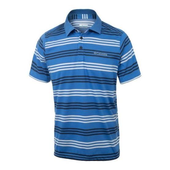 מוצרי קולומביה לגברים Columbia Sweat Threat II Polo - כחול