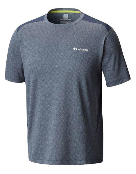 מוצרי קולומביה לגברים Columbia Titan Ice Short Sleeve - כחול