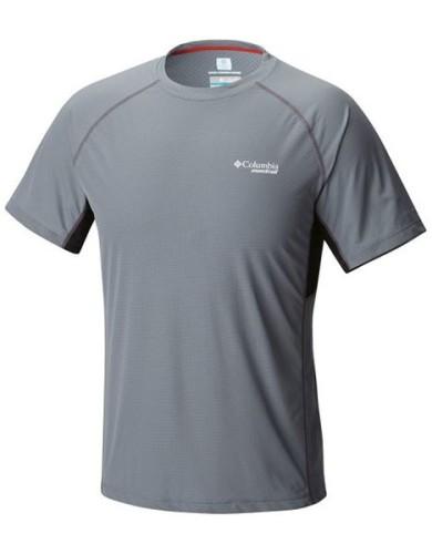 מוצרי קולומביה לגברים Columbia Titan Ultra Short Sleeve - אפור