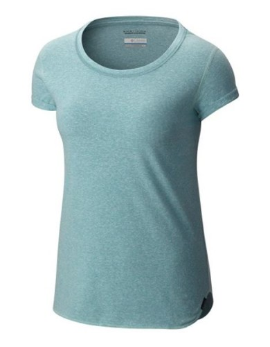 מוצרי קולומביה לנשים Columbia Trail Shaker Short Sleeve - תכלת