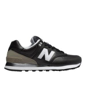 נעלי ניו באלאנס לנשים New Balance WL574 - עור שחור