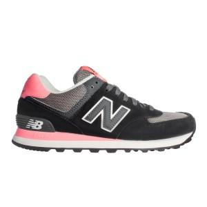 נעלי ניו באלאנס לנשים New Balance WL574 - ורוד/שחור