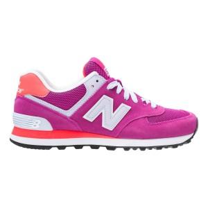 נעלי ניו באלאנס לנשים New Balance WL574 - לבן/ורוד