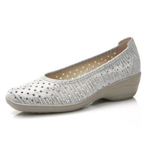 נעלי Shlinger לנשים Shlinger Ava - אפור בהיר
