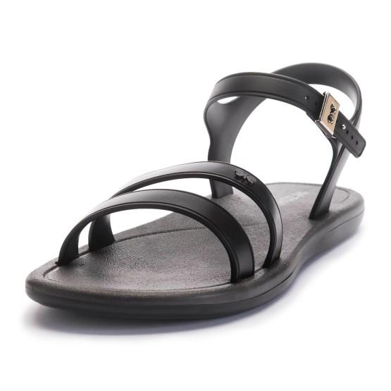 מוצרי זקסי לנשים Zaxy Bubble Gum Sandal - שחור