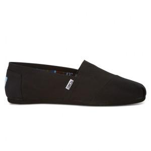 נעלי Toms לגברים Toms Canvas Classic - שחור מלא