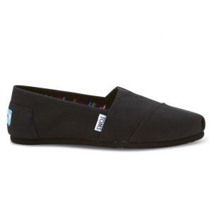נעלי Toms לנשים Toms Canvas Classic - שחור מלא
