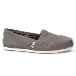נעלי Toms לנשים Toms Canvas Classic - אפור