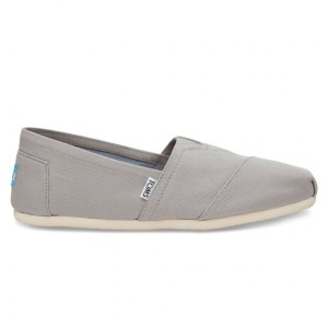 נעלי Toms לגברים Toms Canvas - אפור בהיר