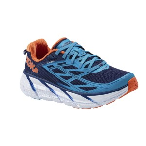 נעלי הוקה לגברים Hoka One One Clifton 3 - כחול/תכלת