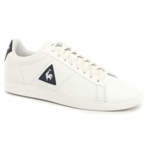 נעלי לה קוק ספורטיף לגברים Le Coq Sportif Courtset Leather - לבן