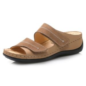 נעלי Gemini לנשים Gemini Eliza - חום בהיר