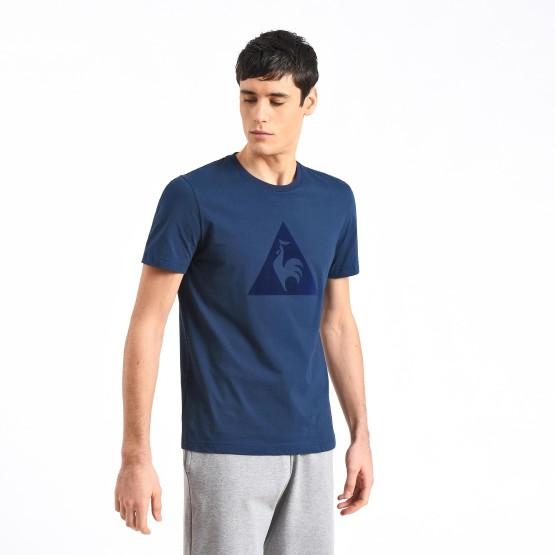 מוצרי לה קוק ספורטיף לגברים Le Coq Sportif Essential T-Shirt N1 - כחול כהה