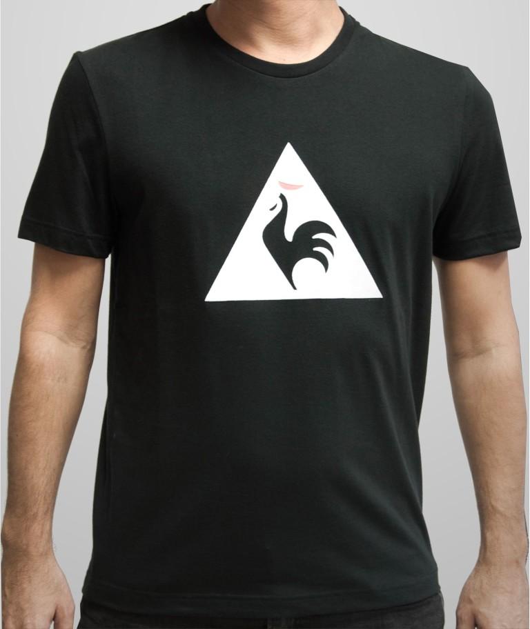 נעלי לה קוק ספורטיף לגברים Le Coq Sportif Essential T-Shirt N2 - שחור