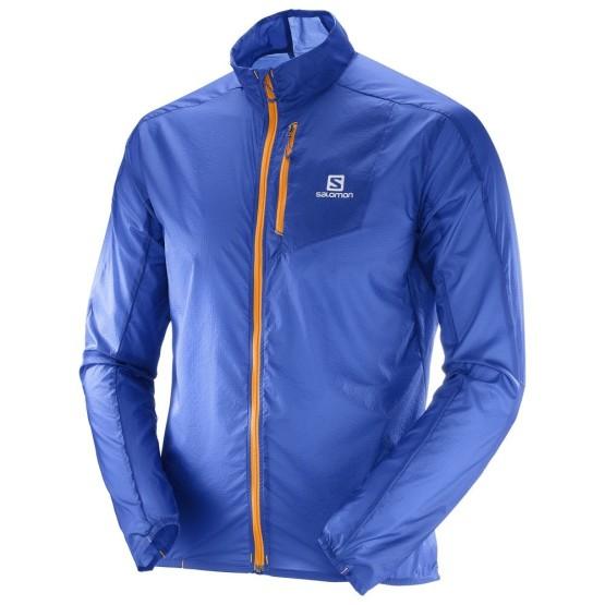 מוצרי סלומון לגברים Salomon Fast Wing Jacket - כחול