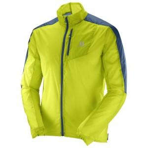 מוצרי סלומון לגברים Salomon Fast Wing Jacket - צהוב