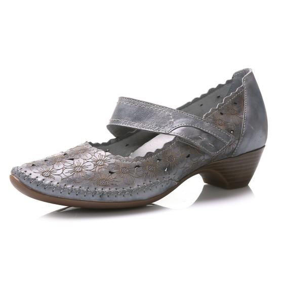 נעלי Jana לנשים Jana Flowerbed - אפור