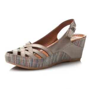 נעלי Gemini לנשים Gemini Jenna - חום בהיר