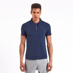 מוצרי לה קוק ספורטיף לגברים Le Coq Sportif LCS Tech Polo - כחול כהה