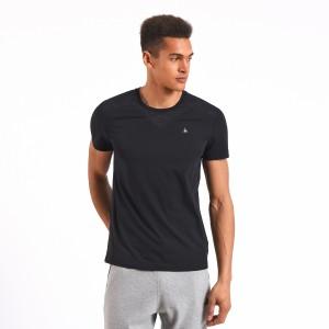 מוצרי לה קוק ספורטיף לגברים Le Coq Sportif LCS Tech Shirt - שחור
