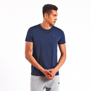 מוצרי לה קוק ספורטיף לגברים Le Coq Sportif LCS Tech Shirt - כחול כהה