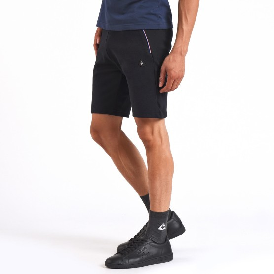 מוצרי לה קוק ספורטיף לגברים Le Coq Sportif LCS Tech Short - שחור