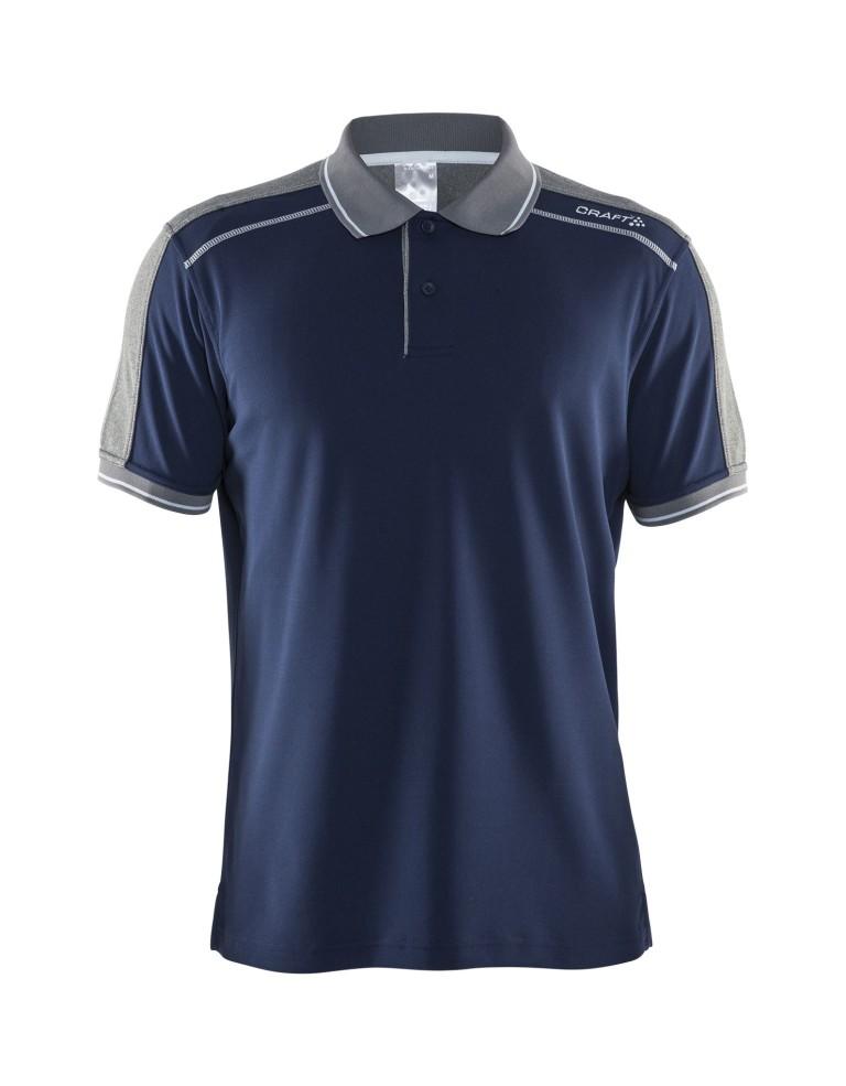 מוצרי Craft לגברים Craft Noble Polo Piquet - כחול כהה