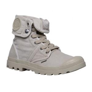 נעלי פלדיום לגברים Palladium Pallabrouse Baggy - בז'