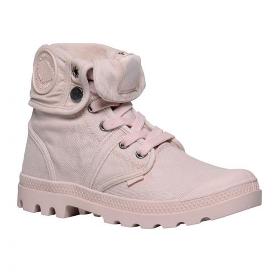 נעלי פלדיום לנשים Palladium Pallabrouse Baggy - ורוד בהיר