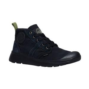 נעלי פלדיום לגברים Palladium Pallaville HI CMS - שחור מלא