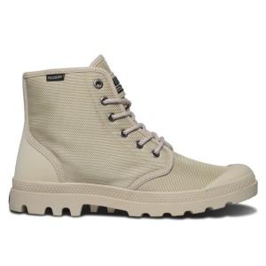 נעלי פלדיום לגברים Palladium Pampa Hi Originale - בז'