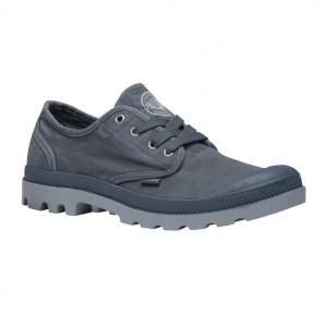נעלי פלדיום לגברים Palladium Pampa Oxford - אפור