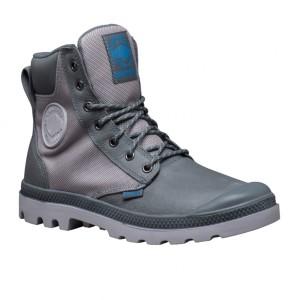 נעלי פלדיום לגברים Palladium Pampa Sport Cuff - אפור